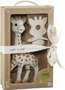 So Pure Sophie la girafe + Natural Teether Set